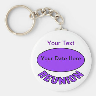 Custom Reunion Keychain You Can Personalize