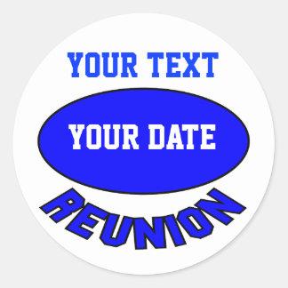 Custom Reunion Sticker You Can Personalize