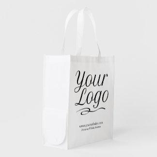 Custom Reusable Grocery Bag Promotional Logo