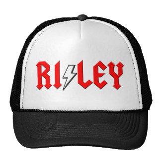 custom RILEY rock and roll shirt Trucker Hats