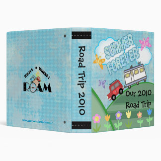 Custom Road Trip Summer Vacation Photo Binder