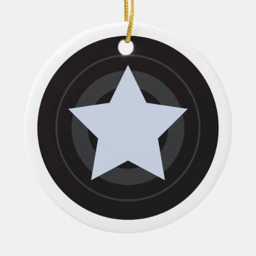 Custom Roller Derby Jammer Star Christmas Ornaments