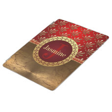 Custom Roman Monogram iPad Smart Cover