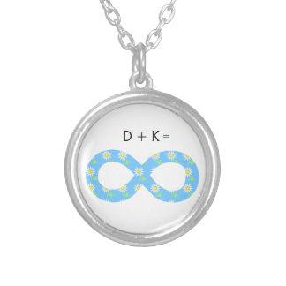Custom Romantic Mathematics Infinity Necklace