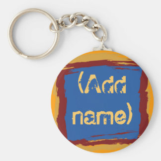 Custom Round Keychain