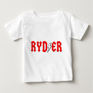 custom RYDER rock and roll shirt