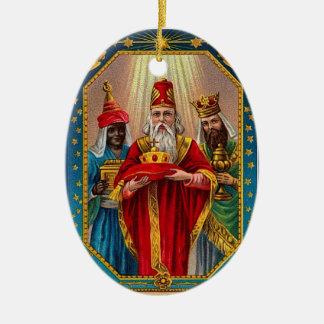 Custom Saint Nicholas Wisemen Christmas Ornament