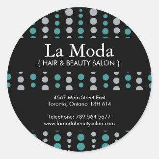 Custom Salon Stickers