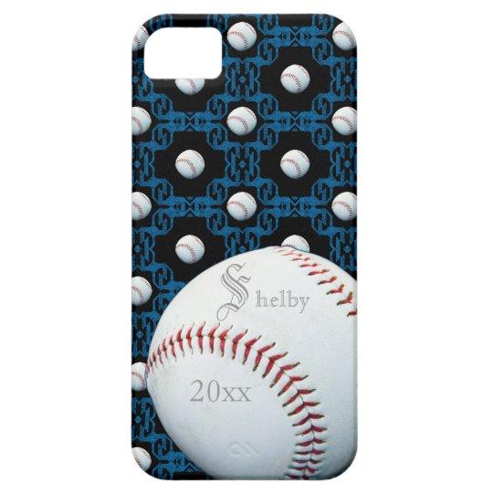 Custom Sam Baseball Motif Iphone 5 Case