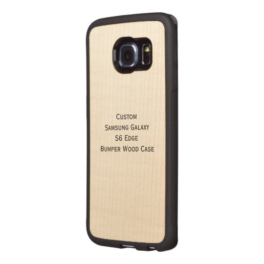 custom samsung galaxy s6 edge bumper wood case zazzle comGalaxy S6 Edge Metal Case Galaxy S6 Edge Cases Speck Personalized Galaxy S6 Edge Case Glaxay S6 Edge Fashion #2