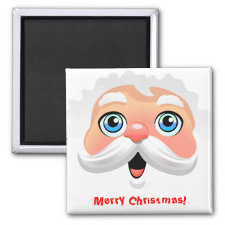 Custom Santa Claus Cartoon Magnet
