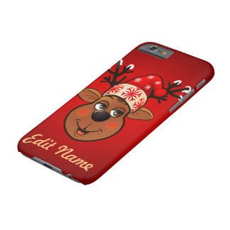 Custom Santa Claus's Reindeer Barely There iPhone 6 Case
