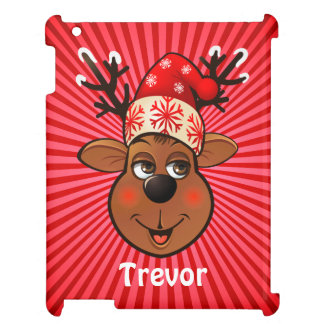 Custom Santa Claus's Reindeer Cover For The iPad 2 3 4