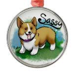 "Custom ""Sassy"" Ornament"