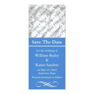 "Custom Save the Date Announcement or Invitation 4"" X 9.25"" Invitation Card"