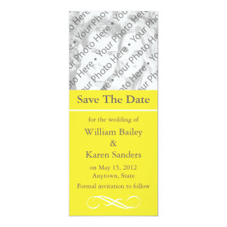 Custom Save the Date Announcement or Invitation