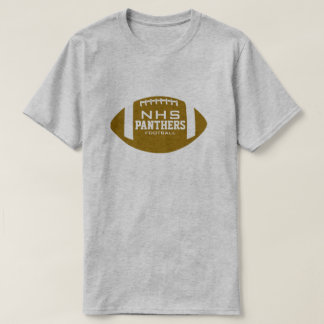 Custom School Football T-Shirt