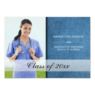 Custom  School Graduation Photo Announcement