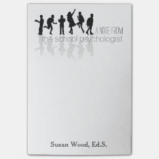 Custom School Psychologist Big Post-it® Note