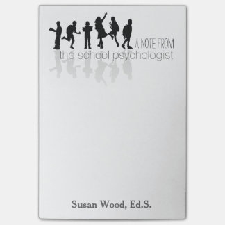 Custom School Psychologist Big Post-it® Note Post-it® Notes