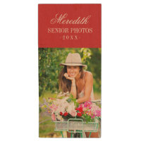 Custom Senior Photo Monogram USB Flash Drive