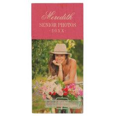 Custom Senior Photo Monogram Usb Flash Drive at Zazzle