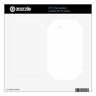 Custom Sensation Skin Decals For HTC Sensation