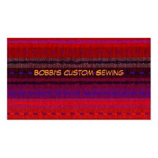 Custom Sewing Business Card