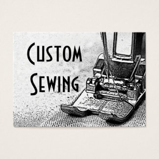 Custom Sewing Business Card