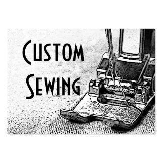 Custom Sewing Large Business Card