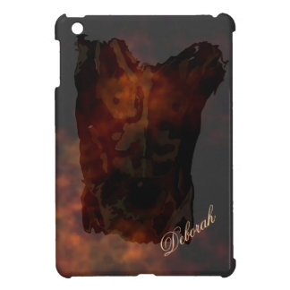 Custom sexy Man sillhoutte illutration iPad Mini Covers