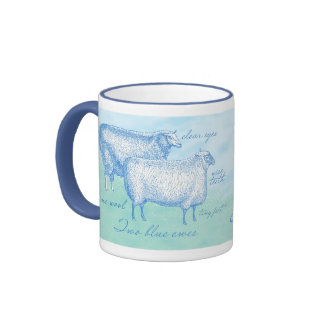Custom Sheep Mug for the Knitter Extraordinaire