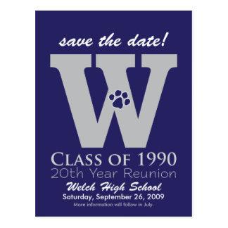 ::custom::_sheila Class Reunion Save-the-Date v1 Postcard