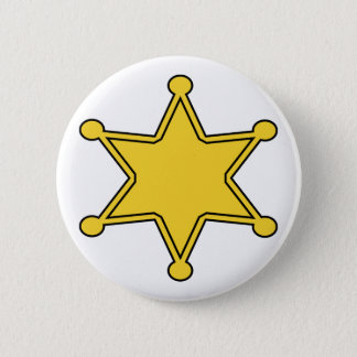 Custom Sheriff Badge - Design Your Own Button