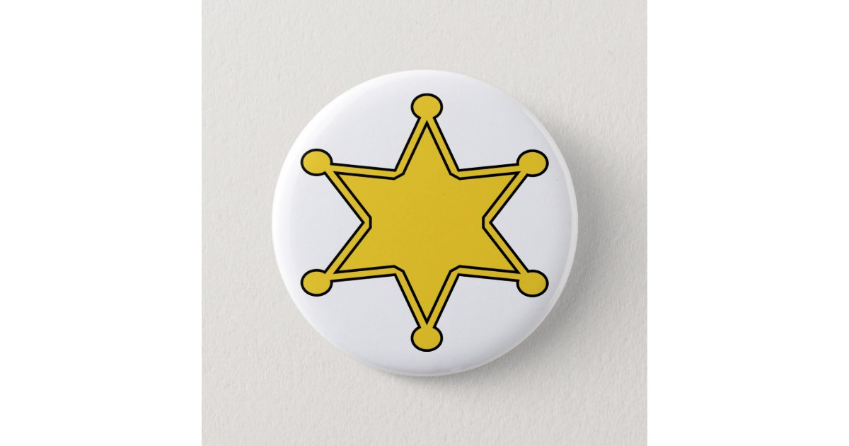 Custom Sheriff Badge - Design Your Own Button | Zazzle.com