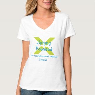 Custom shirt - add your own website/information