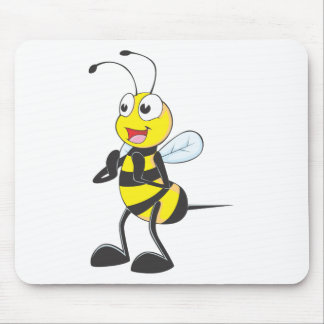 Custom Shirts : Clapping Hands Bee Shirts Mouse Pad
