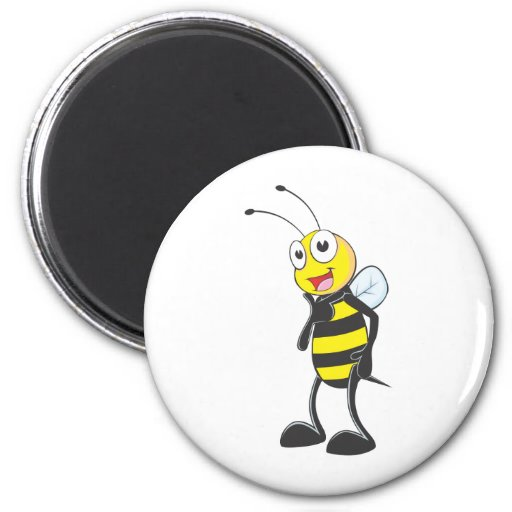 Custom Shirts : Cute Pose Bee Shirts Magnet