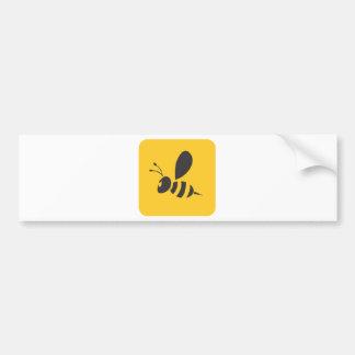 Custom Shirts :  Elegant Bee Icon Shirts Car Bumper Sticker