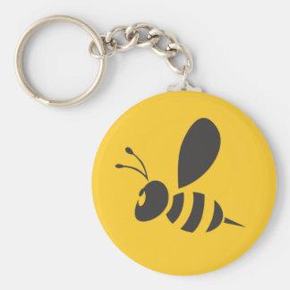 Custom Shirts :  Elegant Bee Icon Shirts Keychain