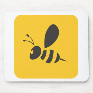 Custom Shirts :  Elegant Bee Icon Shirts Mouse Pad