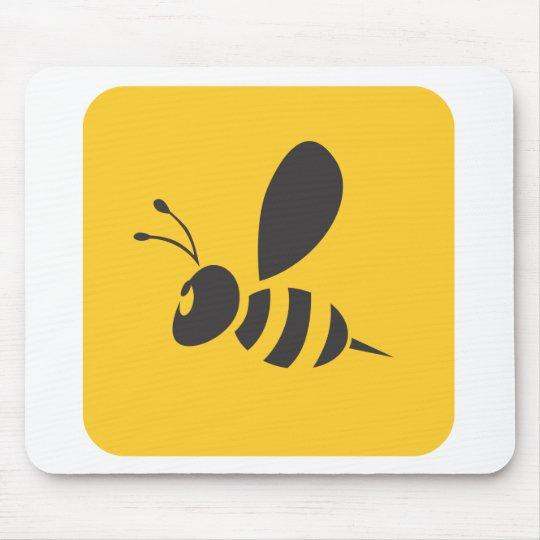 Custom Shirts :  Elegant Bee Icon Shirts Mouse Pad