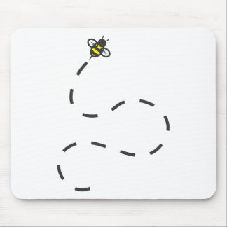 Custom Shirts : Flying Trail Bee Shirts Mouse Pad