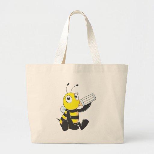 Custom Shirts : Happy Baby Bee Shirts Canvas Bag
