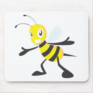 Custom Shirts : Happy Bee Shirts Mouse Pad