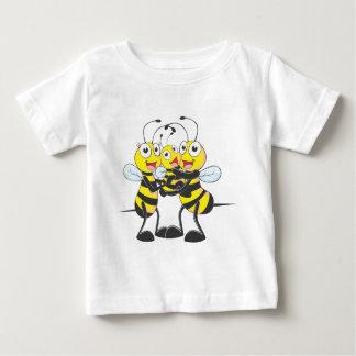 Custom Shirts : Happy Dad Mom Baby Bee Shirts
