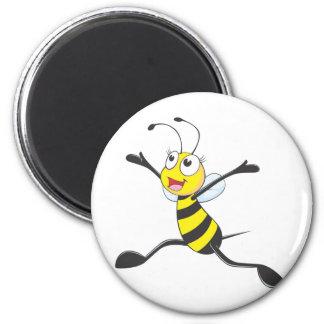 Custom Shirts : Joyful Bee Shirts 2 Inch Round Magnet