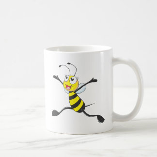 Custom Shirts : Joyful Bee Shirts Classic White Coffee Mug