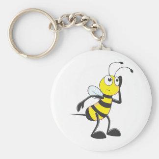 Custom Shirts : Listening Bee Shirts Keychain