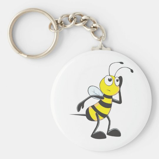 Custom Shirts : Listening Bee Shirts Keychain